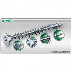 SPAX SPAANPLAATSCHROEF TORX T20 RVS 5.0X100 PK. (100)