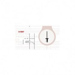 DEVENTER DICHTINGSPROFIEL MIDDEN 3082/S5507 P/M1